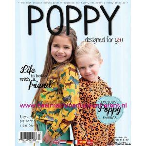 Patroonblad Poppy designed for you, editie 13. najaar 2019