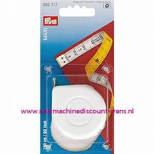 "Rolcentimeters Maxi Cm/Cm ""WIT"" 150 Cm Prym art.nr. 282201"