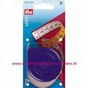 "Rolcentimeters Mini Cm/Cm ""PAARS"" 150 Cm Prym art.nr. 282209"