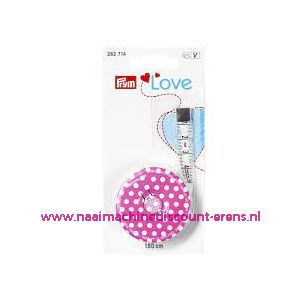 "Rolcentimeter Cm/Cm ""LOVE"" 150 Cm Prym art.nr. 282714"
