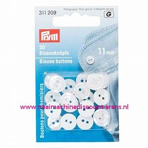 Polyesterknopen 20 stuks Parlemoer 11 Mm Prym art.nr. 3112109