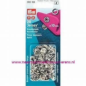 Navullingen Ms Voor 390107 Tandring 10 Mm Zilverkleur 20 stuks prym art.nr. 390106
