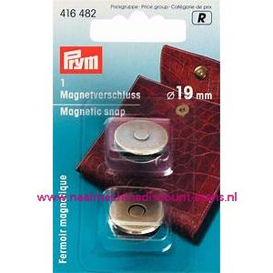 Magneetsluiting Oudmessing 19 Mm Prym art.nr. 416482