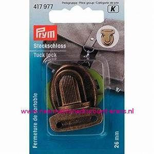 "TT-slot / Insteekslot ""brons"" prym art.nr. 417977"