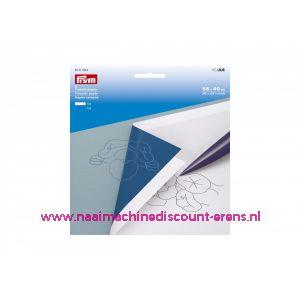 Prym 610464 Transfer papier wit/blauw