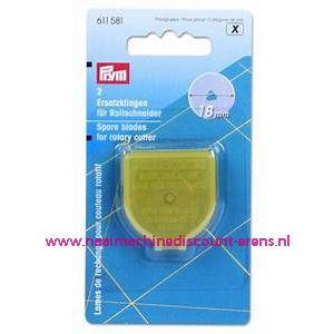 Reservemesje voor Rolmes Super Mini 18 Mm prym art.nr.611581