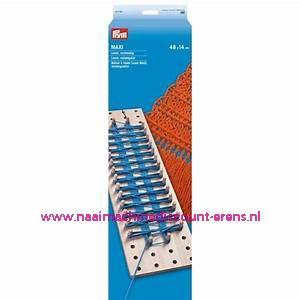 """Loom Set """"Maxi"""" Rechthoek 48 x 14 Cm Prym art.nr. 624158"""