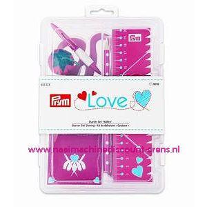LOVE Naaiset Luxe Start Set Roze prym. art. nr. 651223
