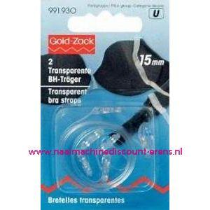BH-Schouderband Transparant 15 Mm prym art.nr. 991930