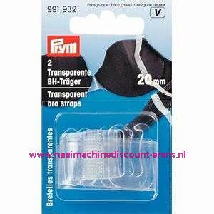 BH-Schouderband Transparant 20 Mm Prym art.nr. 991932
