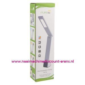 Purelite CFPL21 Handige oplaadbare LED-lamp - wit