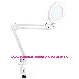 Elektrische loeplamp Phillips met schaararm incl. USB aansluiting