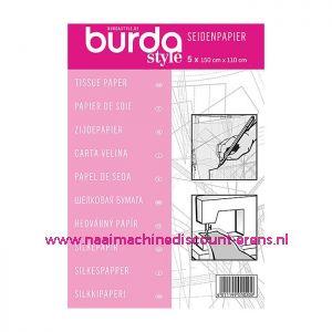 BURDA Zijde Papier 5 stuks
